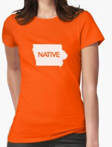 Iowa Native IA Womens Fitted T-Shirt