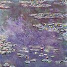 Water Lilies (Nympheas) 1908 Claude Monet Fine Art by Vicky Brago-Mitchell