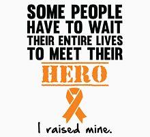 Leukemia Hero Womens Fitted T-Shirt