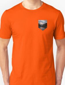 Sunset at Bear Lake Pocket T-Shirt