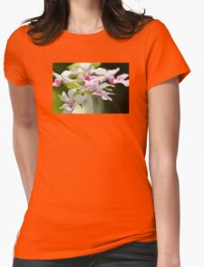 Delicate Orchids by Sharon Cummings Womens Fitted T-Shirt