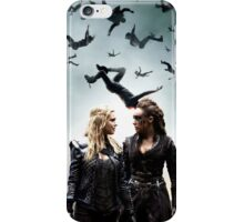 Here's looking at you - Clarke & Lexa  iPhone Case/Skin