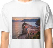 Vernazza Sunset Classic T-Shirt