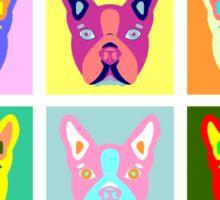 Boston Terrier Pop Art Sticker