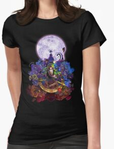 Majoras Mask 3D Womens Fitted T-Shirt