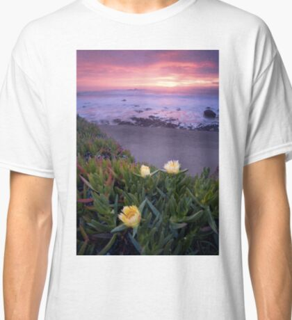 Blooming Ice Plants. Classic T-Shirt