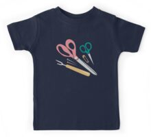 Quilter's Sewing Notions Kids Tee