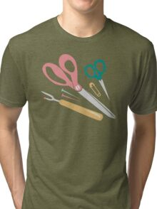 Quilter's Sewing Notions Tri-blend T-Shirt