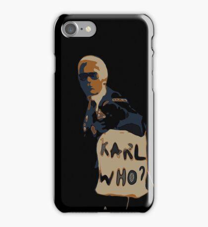 Karl Legerfeld- illustrations  iPhone Case/Skin