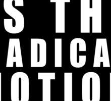 Pro-Life Feminism White Sticker