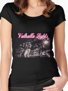 Valhalla Lights Rock Band!! Women's Fitted Scoop T-Shirt