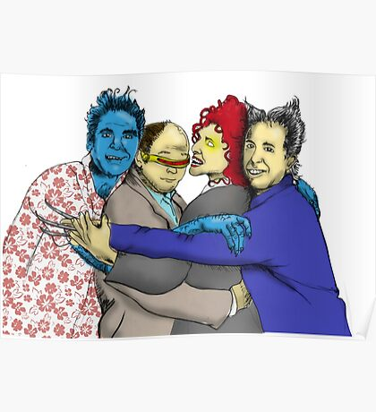 The Uncanny Seinfeld Poster