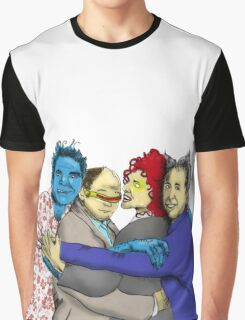 The Uncanny Seinfeld Graphic T-Shirt