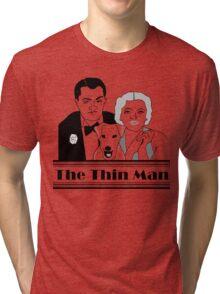 KRW The Thin Man Original Art Drawing  Tri-blend T-Shirt