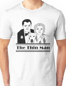 KRW The Thin Man Original Art Drawing  Unisex T-Shirt