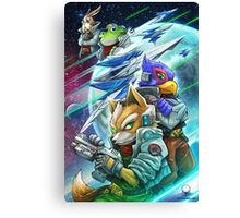 Space Animals Canvas Print
