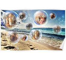 Bubbly Fun Poster