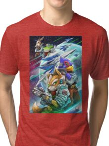 Space Animals Tri-blend T-Shirt