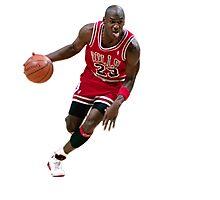 Michael Jordan/ Mikel Jerdan Photographic Print
