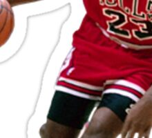 Michael Jordan/ Mikel Jerdan Sticker