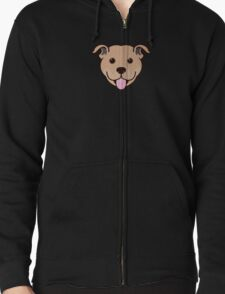 Staffy Smile – Fawn T-Shirt