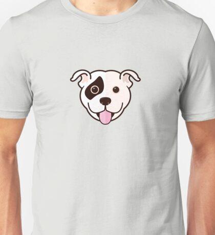 Staffy Smile – Patch 02 Unisex T-Shirt