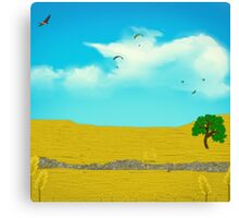 This Field Of Gold Canvas Print