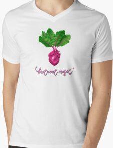 Beetroot Music Mens V-Neck T-Shirt