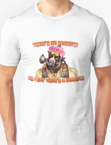 Who Wants A Barbecue? Unisex T-Shirt