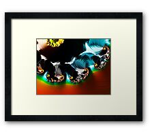 Wave Vortex Framed Print