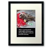 Roadkill Framed Print