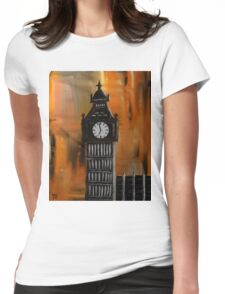 Big Ben Rustic Abstract Womens Fitted T-Shirt