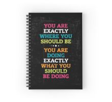 Words of Inspiration Spiral Notebook