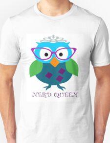 Nerd Queen and proud of it Unisex T-Shirt