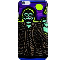 Zombie About to Brain You COLORIZED iPhone Case/Skin