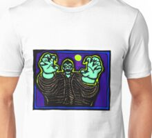 Zombie About to Brain You COLORIZED Unisex T-Shirt