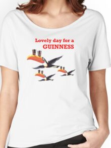 GUINESS LOVELY DAY FOR A GUINNESS Women's Relaxed Fit T-Shirt