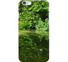 Reflection of Trees on Water iPhone Case/Skin