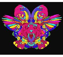 Psychedelic animal mashup Photographic Print