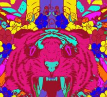 Psychedelic animal mashup Sticker