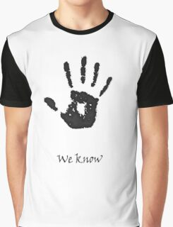 """We Know"" Graphic T-Shirt"