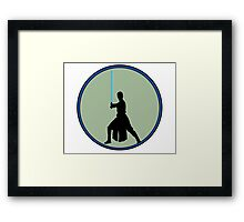 A new Jedi for a new generation! Framed Print