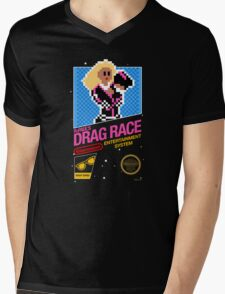8-bit RuPaul's Drag Race Mens V-Neck T-Shirt