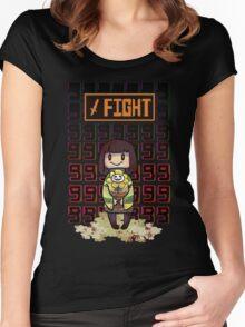 Undertale- Fight Women's Fitted Scoop T-Shirt