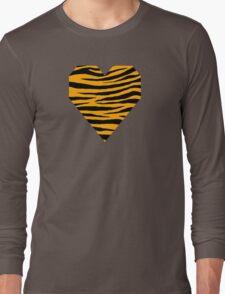 0132 Chrome Yellow Tiger Long Sleeve T-Shirt