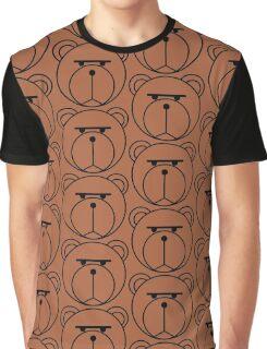 Blank Stare Bear Graphic T-Shirt