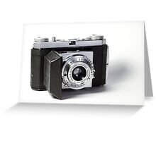 Kodak Retinette 35mm Camera Greeting Card
