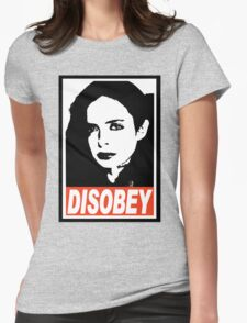 Jessica Jones - Disobey Womens Fitted T-Shirt
