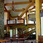 Lodge At Gondola Ride...Ketchum, Idaho by Diane Arndt