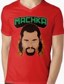 MACHKA Rusev Mens V-Neck T-Shirt